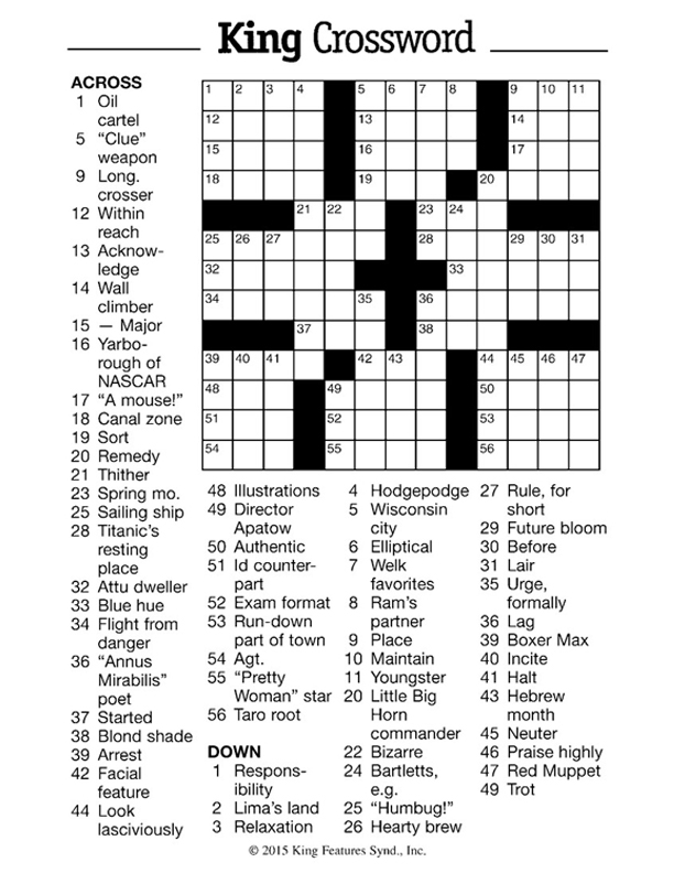crossword-1pg