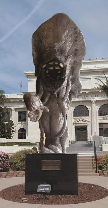 stuff monster statue