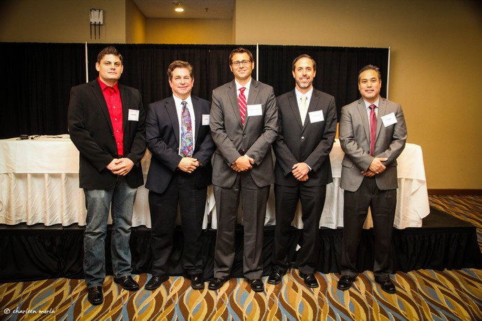Jeremy McCool, Paul Hullar, Bob Grundstrom, Jonathan Koehn, and Erik Takayesu attended the sold out event.