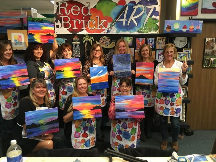 art paint party