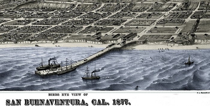 Ventura 1877 Courtesy Museum of Ventura County