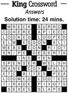 crossword ans