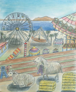 3rd place winner 13-year-old Carys Garvey of Ventura