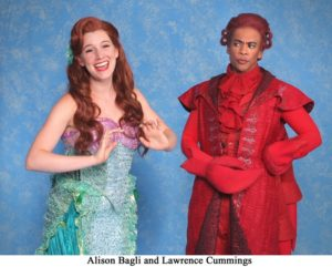 Alison Bagli and Lawrence Cummings star in The Little Mermaid.