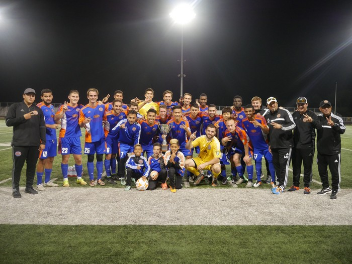Ventura County Fusion defeats FC Hasenthal to remain Ventura County Cup Champs.
