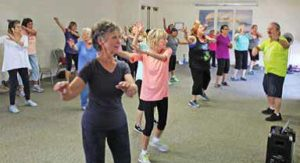 Zumba is perfect for all active adults.
