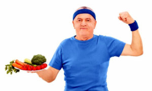 If you eat fruit and vegetables until you are 100 you will live a long time.