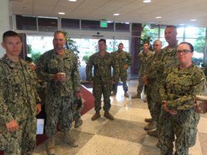 Seabees honored for their efforts and contributions.