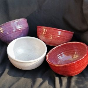 You will get to fill these bowls with wonderful food from Harbor restaurants.