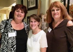 Ventura County Supervisor Kathy Long, Teresa Valko and Sharon Bick at Alzheimer's reception.