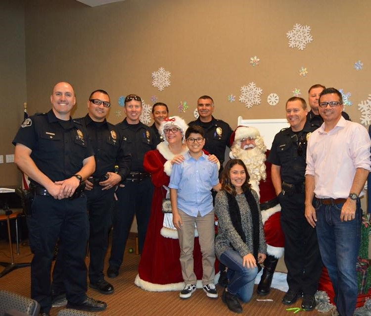 The Ventura Police Department is thrilled to be a part of this wonderful toy drive.