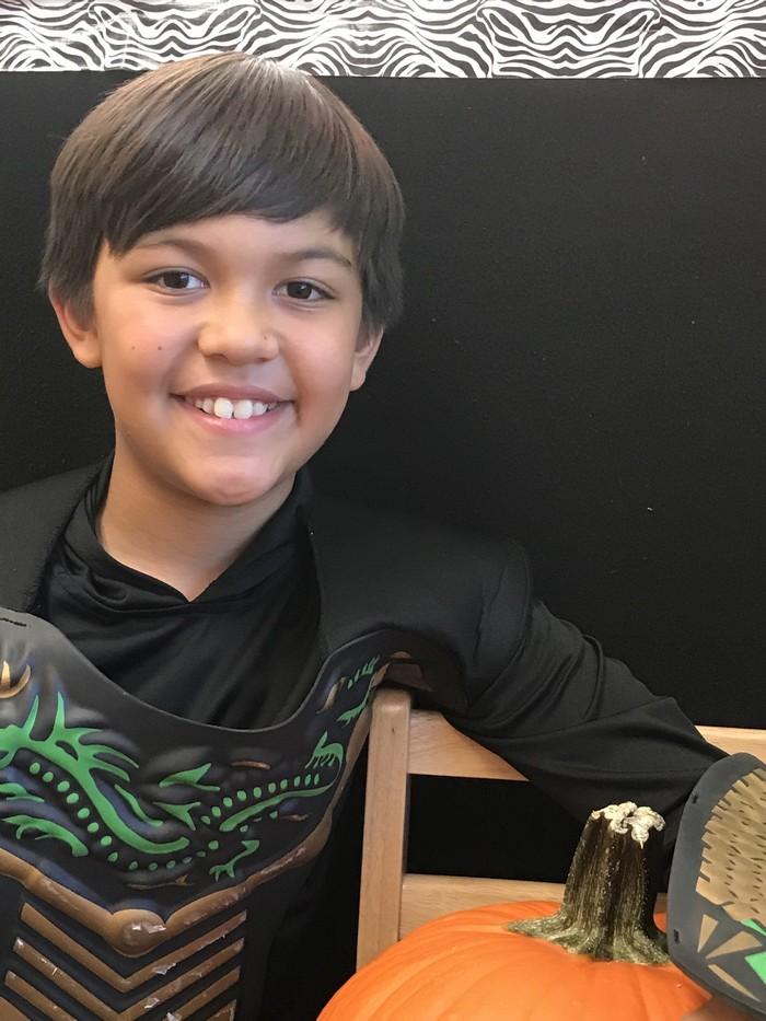 "Kai Petralba (dragon warrior) age 11 / 5th grade. """